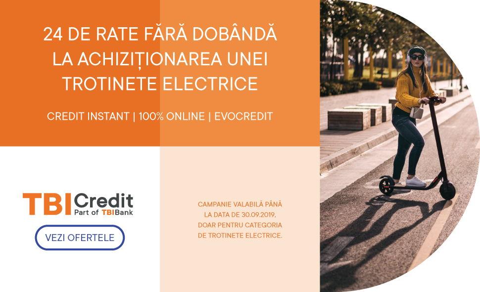 TBI credit - 24 rate fara dobanda