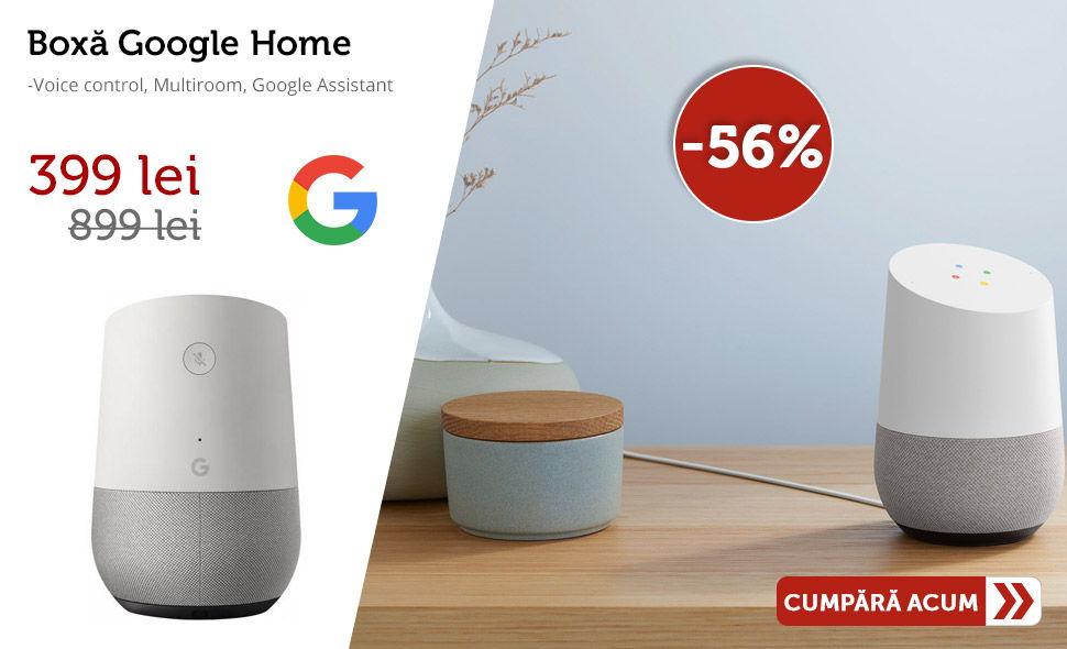 Oferta-Boxa-Google-Home-Voice-control-Multiroom-Google-Assistant