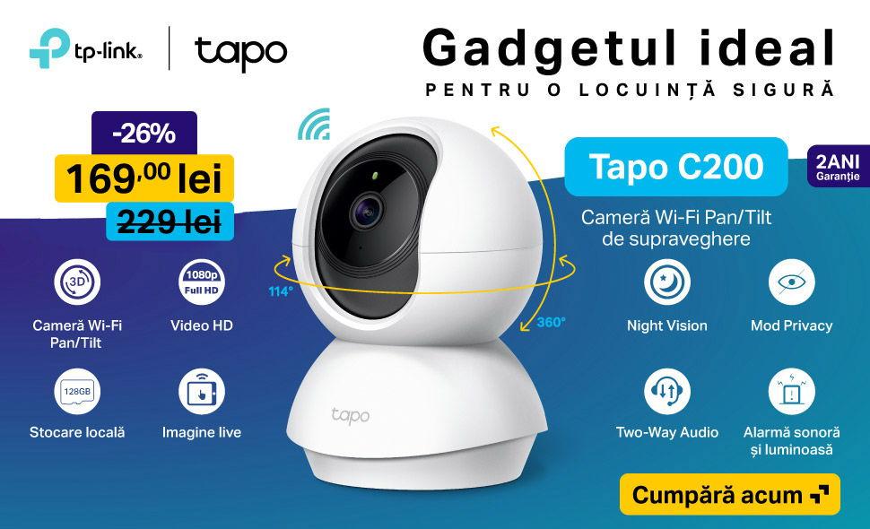 Camera-Supraveghere-Video-Tp-Link-Tapo-C200