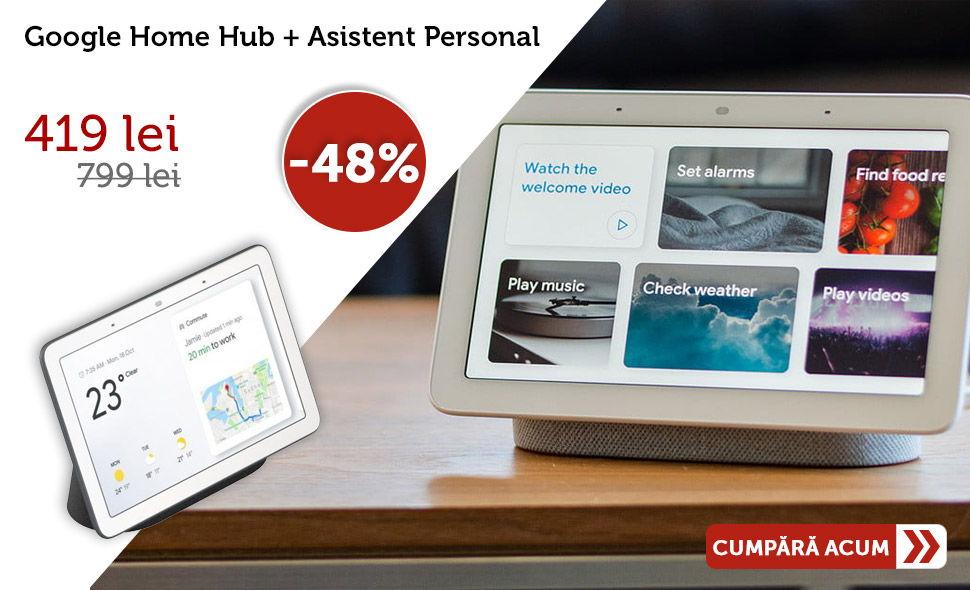 Oferta-Google-Home-Hub-Asistent-Personal-Control-de-la-ditanta-Alarma-Apelare-Touch-screen-Streaming-Pandora-Spotify-Youtube