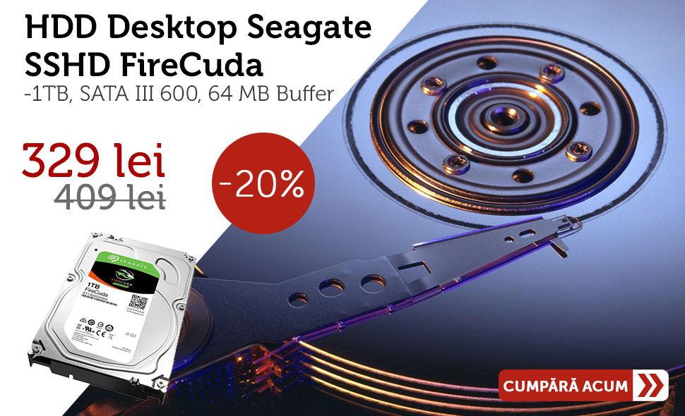 Seagate SSHD FireCuda, 1TB