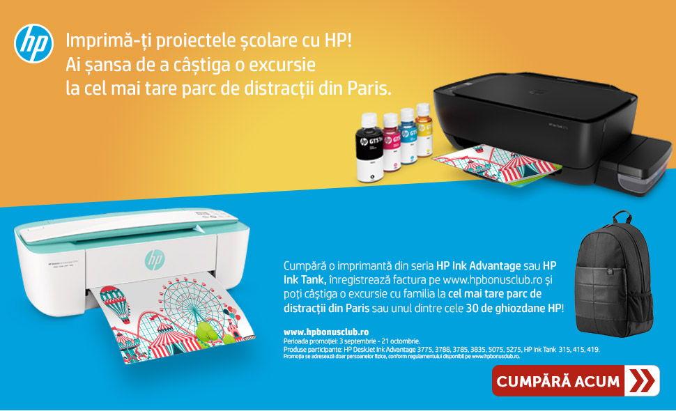 Cash-back consumabile HP