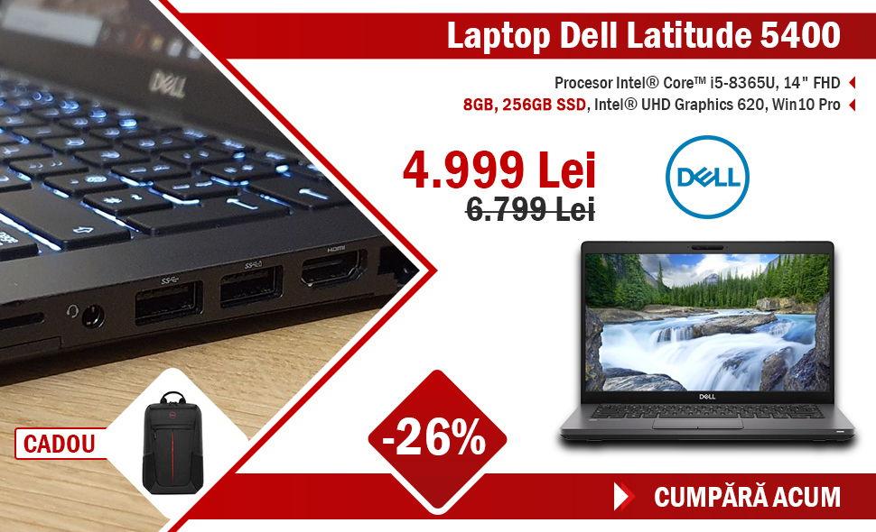 Laptop Dell Latitude 5400 i7-8665U