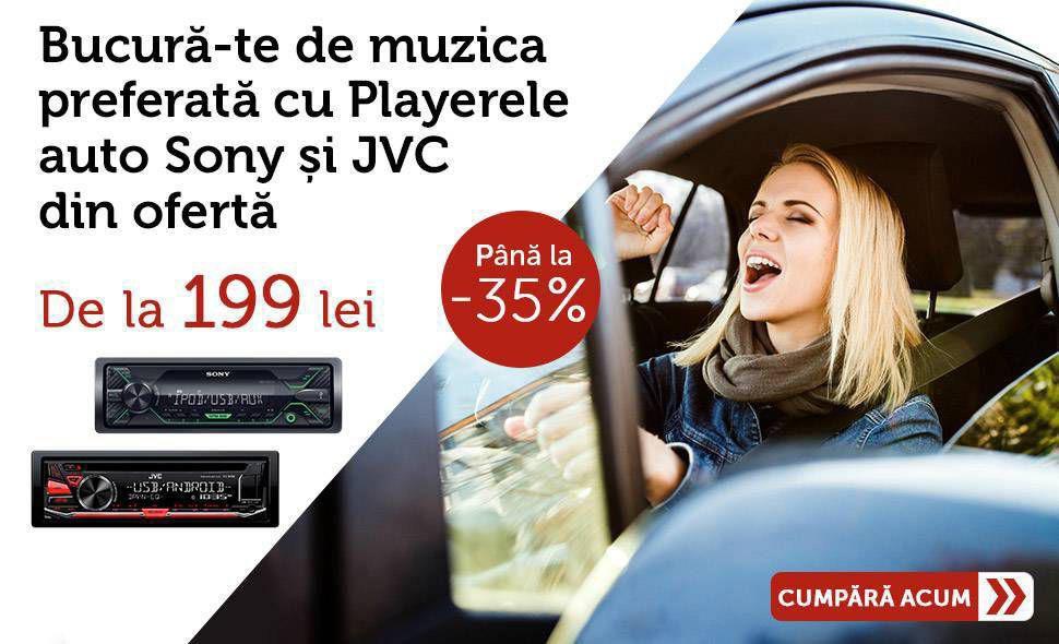 Promotie-Player-Audio-Auto-Sony-JVC