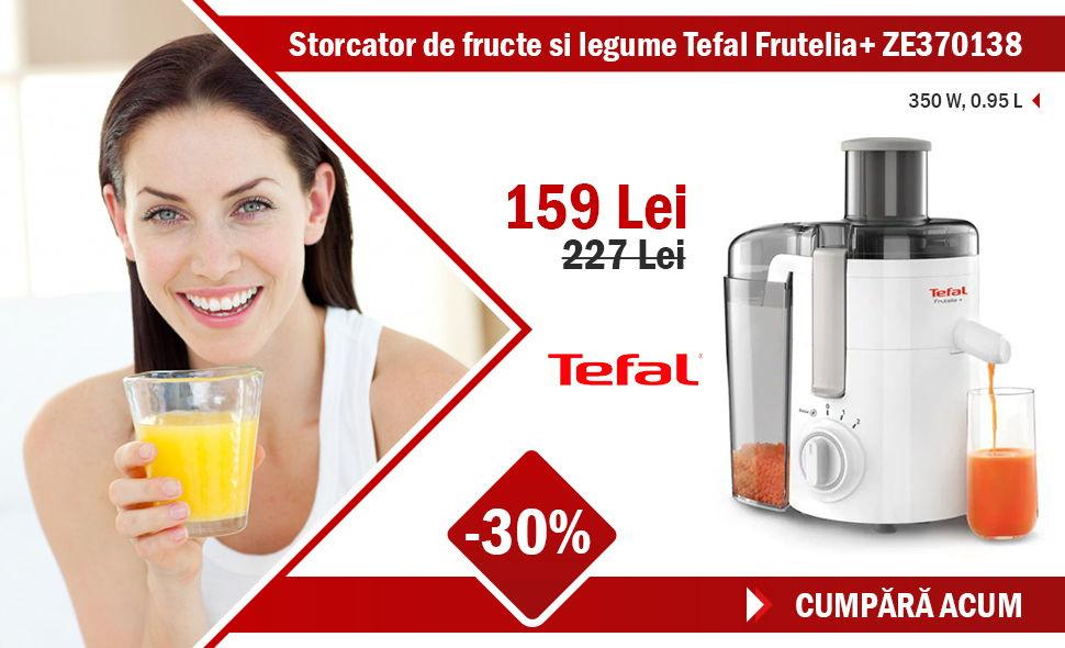 Storcator de fructe si legume Tefal Frutelia+ ZE370138