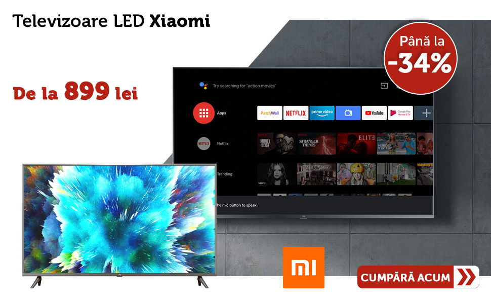 Oferta-Televizoare-Xiaomi-Smart-tv-Reducere-de-Pret
