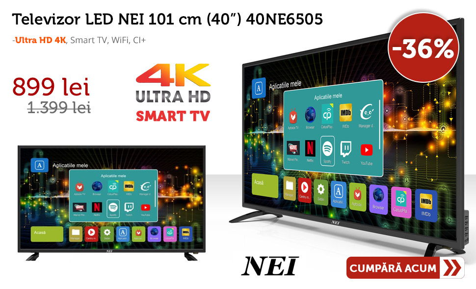Oferta-Televizor-LED-NEI-101-cm-40NE6505-Ultra-HD-4K-Smart-TV-WiFi-Cel-mai-mic-pret
