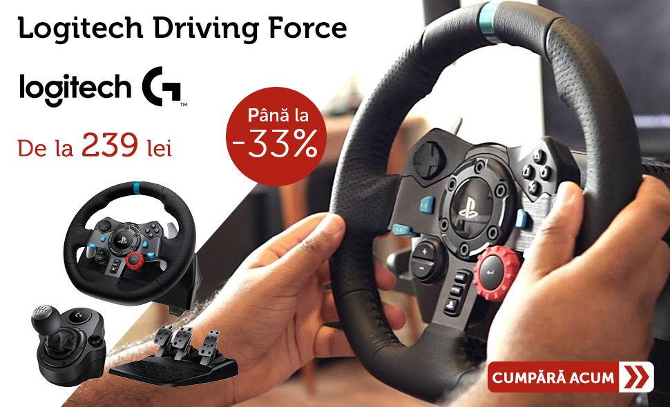 Oferta-Volan-Gaming-Logitech-driving-force-G29-G920