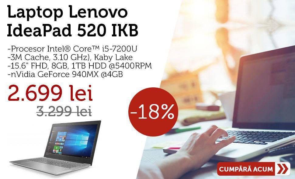 Promo Laptop Lenovo IdeaPad 520