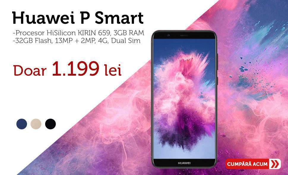 Telefon-mobile-Huawei-P-Smart