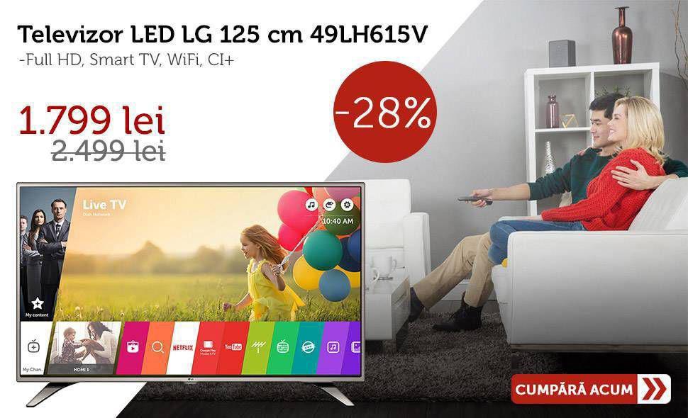 Super-oferta-Televizor-LED-LG-125-cm-49-49LH615V-Full-HD-Smart-TV-WiFi-Reducere-de-pret