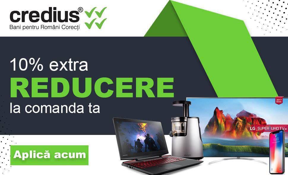 Credius - 10% extra reducere